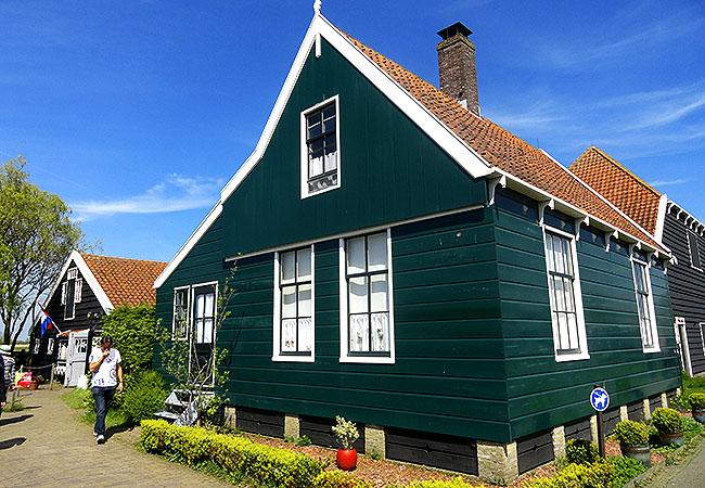 Zaanse Schans Holanda casas tipicas