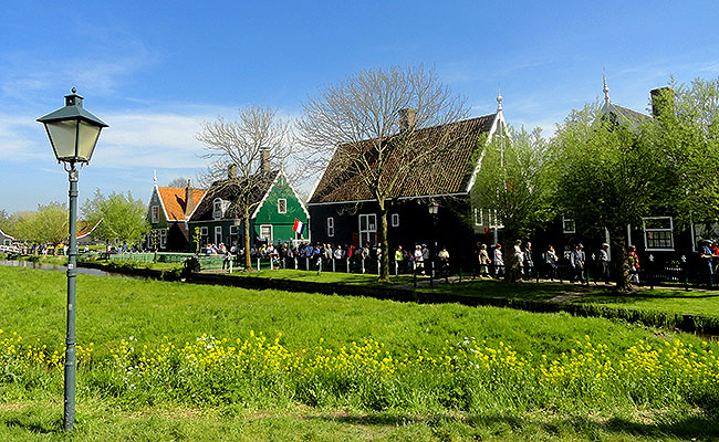 Zaanse Schans Holanda casas