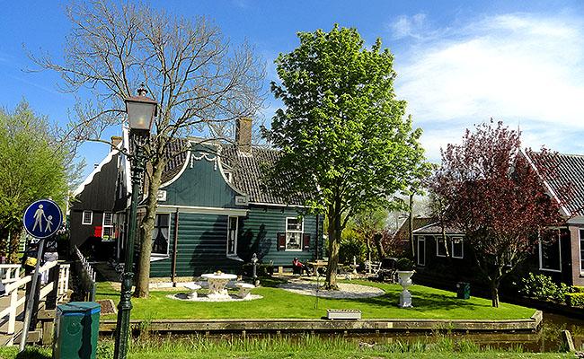 Zaanse Schans Holanda casinhas tipicas
