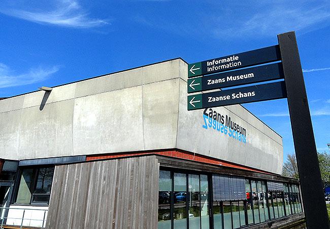 Zaanse Schans Holanda entrada