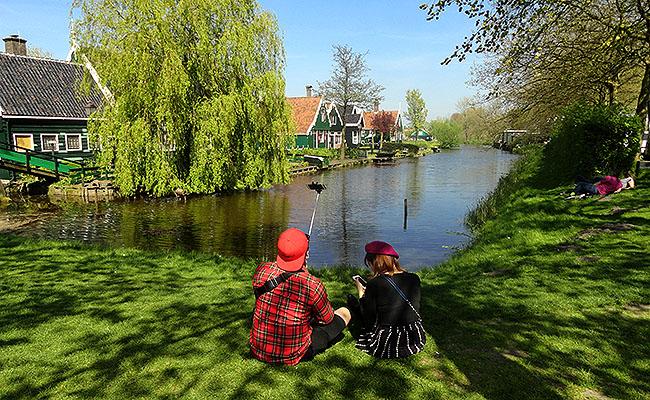 Zaanse Schans Holanda lagos