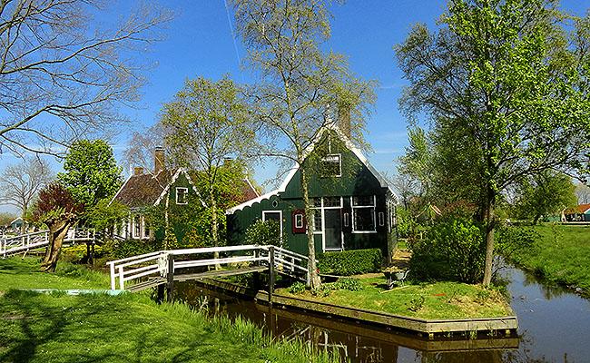 Zaanse Schans Holanda o que fazer