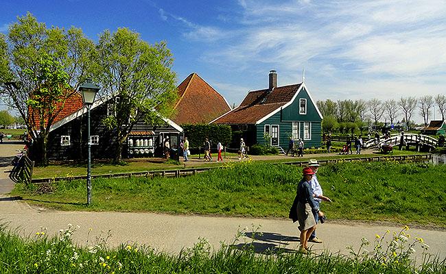 Zaanse Schans Holanda passeio turistico
