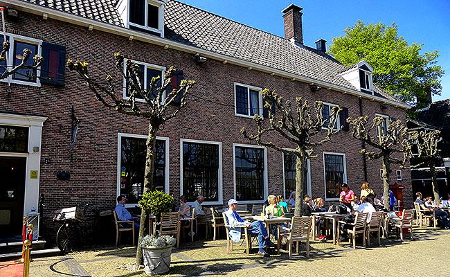 Zaanse Schans Holanda restaurante