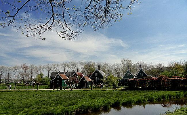 Zaanse Schans Holanda turismo