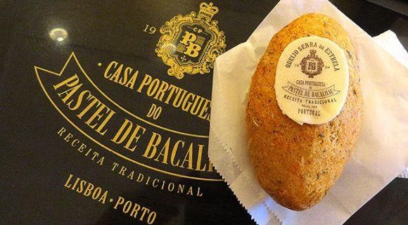 Casa Portuguesa do Pastel de Bacalhau: iguaria em Lisboa e no Porto