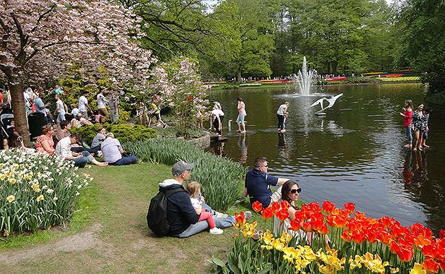 como-visitar-o-keukenhof-jardim-de-tulipas-holanda-lago