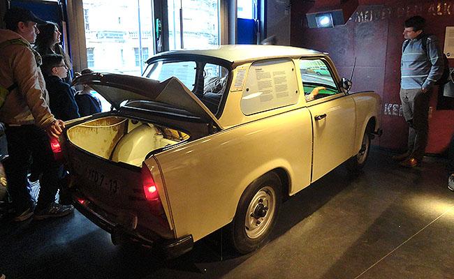 DDR Museum Berlim - Trabant