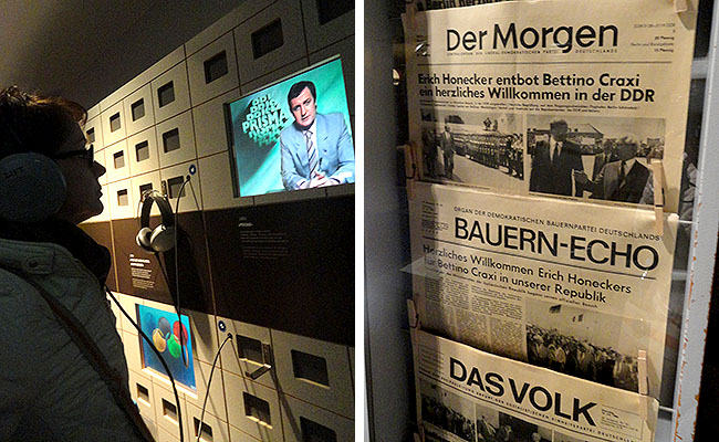 DDR Museum Berlim - comunicacao