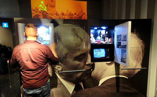 DDR Museum Berlim - historias