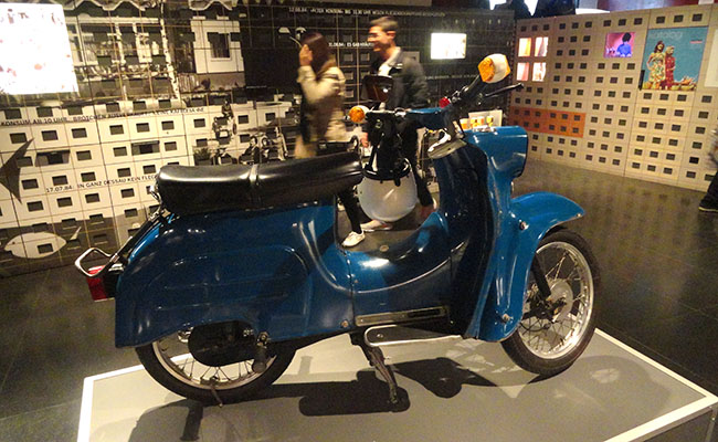 DDR Museum Berlim - moto
