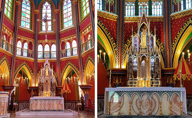 Igreja Arautos do Evangelho Cotia - Altar