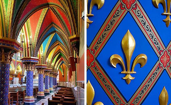 Igreja Arautos do Evangelho Cotia - Detalhes
