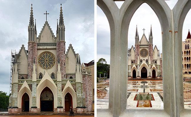 Igreja Arautos do Evangelho Cotia - Entrada