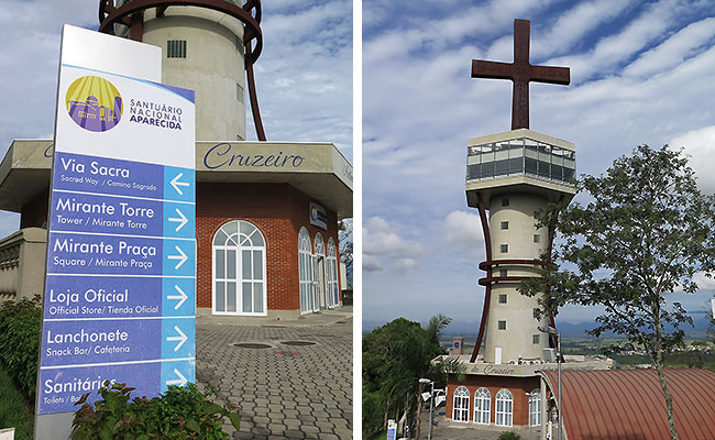 Santuario Aparecida - Morro do Mirante
