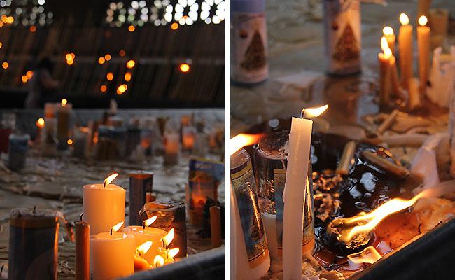 Santuario Aparecida - velas
