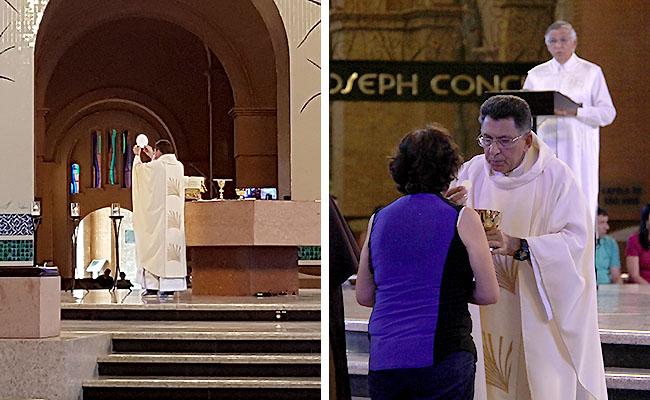 Santuario de Aparecida - Horario das Missas