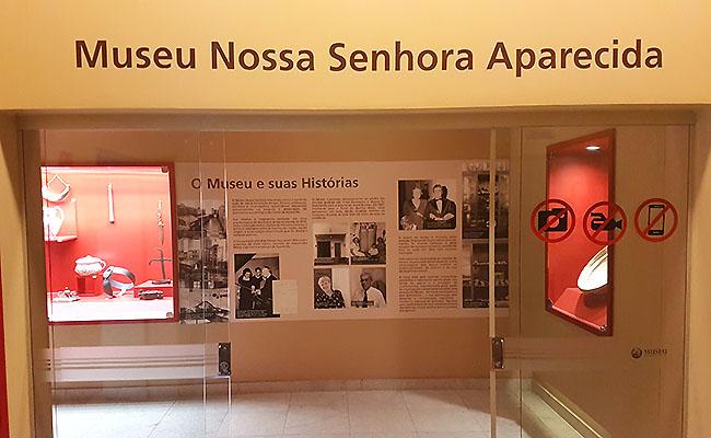 Santuario de Aparecida - Museu Nossa Senhora Aparecida