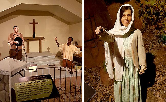 Santuario de Aparecida - Museu de Cera Milagres