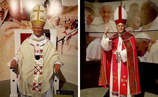 Santuario de Aparecida - Museu de Cera Papas