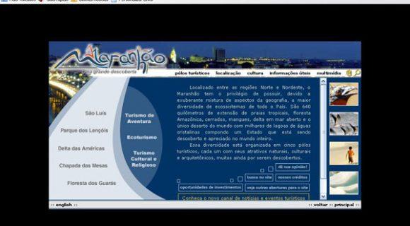 Leitura da sexta: site do Maranhão