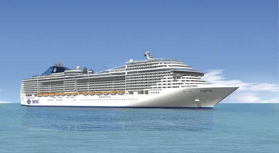 MSC Cruzeiros inaugura o navio mais moderno do mundo