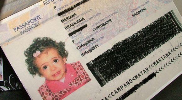 O primeiro passaporte a gente nunca esquece