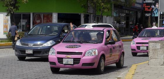 México: táxi só para mulheres