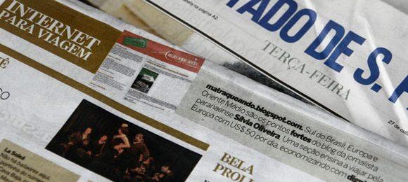 Matraqueando é destaque no jornal Estadão