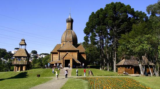 Feriado em Curitiba? Vá de Memorial Ucraniano