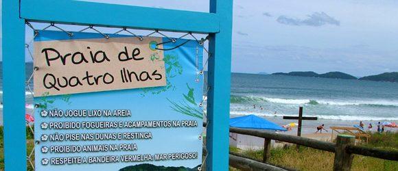 Praias de Quatro Ilhas e Sepultura