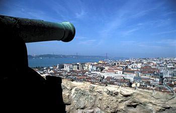 Lisboa: Castelo São Jorge e o Tejo