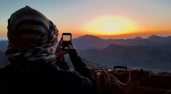 Egito: amanhecer no Monte Sinai