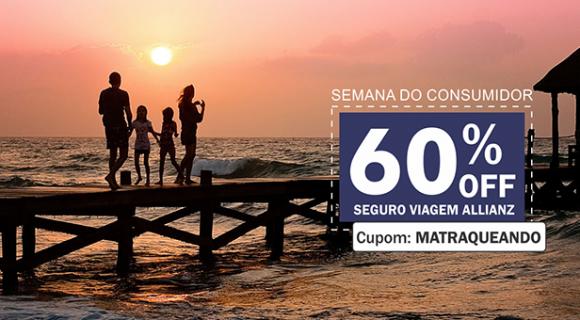 PRORROGADO | Cupom exclusivo para Leitor Matraqueando dá 60% de desconto no seguro viagem!