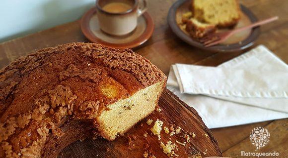 Receita do melhor bolo de fubá da vida: fofinho e tradicional