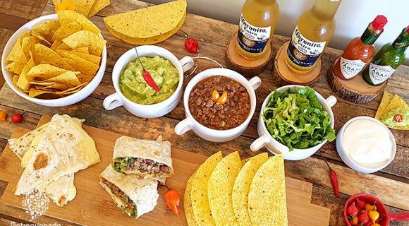 Noite Mexicana: cardápio, receitas e dicas de como montar tacos e burritos