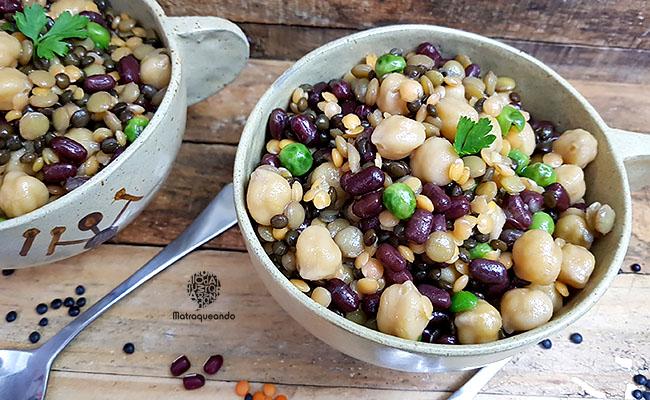 Salada de grãos: receita fácil e nutritiva que vale por uma refeição