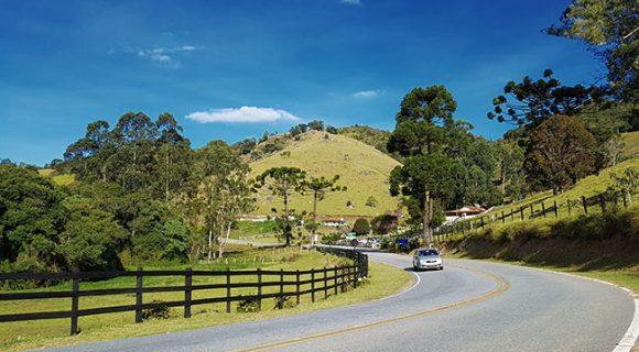 25 viagens incríveis de carro no Brasil: roteiros, mapas e hospedagem